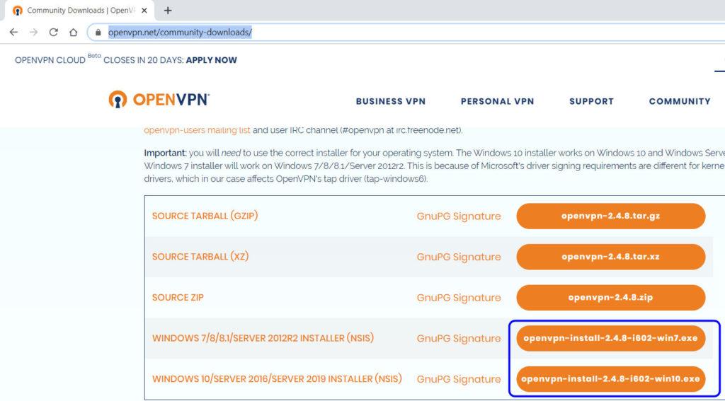 download openvpn