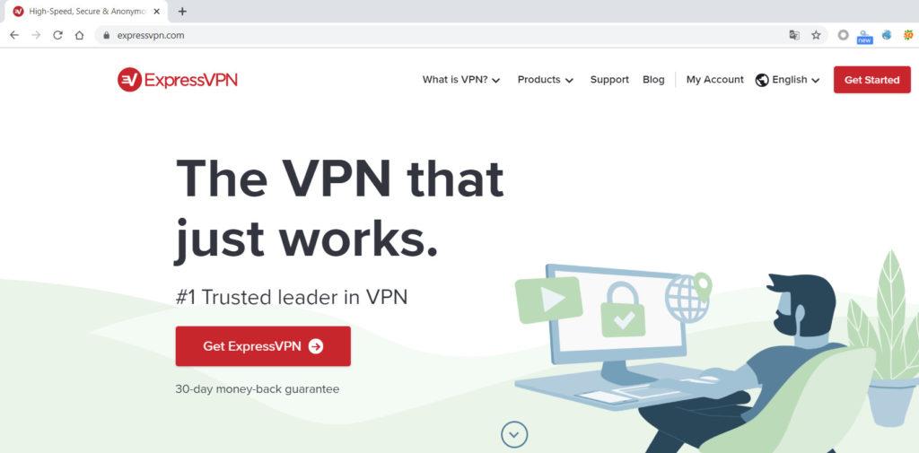 ExpressVPN官网不翻墙无法打开